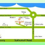 Nice Resort Pattaya : Map